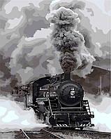 """Картина по номерам """"Прибытие поезда"""" 40*50см, фото 1"""