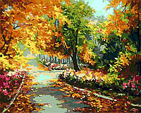 """Картина за номерами """"Осінній парк"""" 40*50см"""