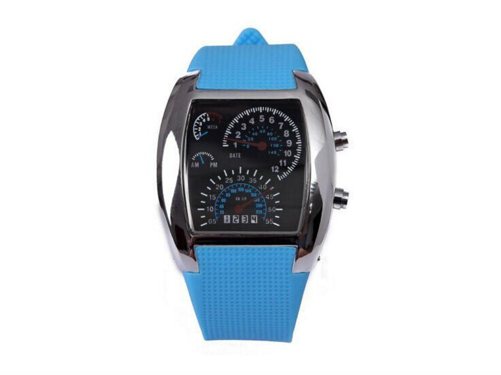 Часы со Спидометром Street Racer  Голубой