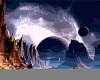 "Картина по номерам ""Далёкая планета"" 40*50см"