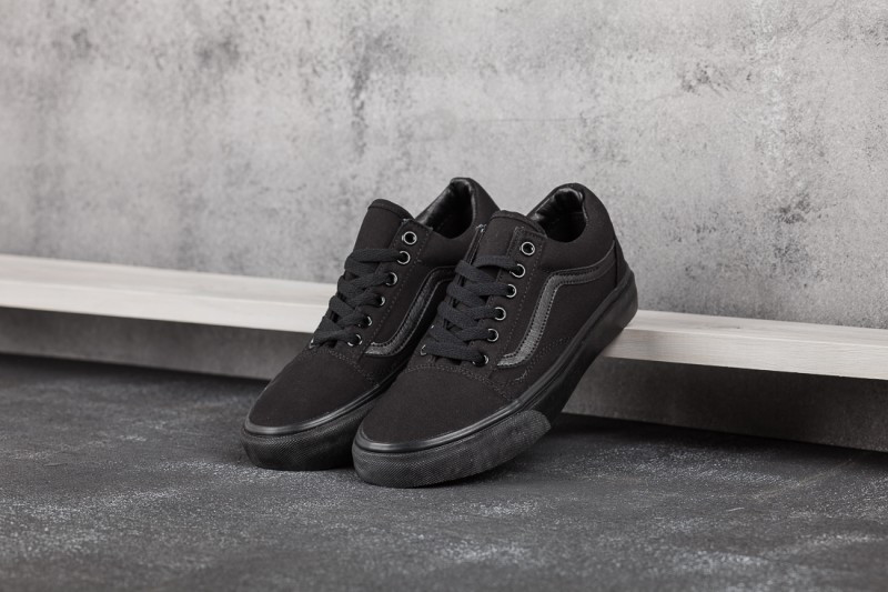 2590ec5a9132 Кеды Vans Old School Mono Black - Интернет магазин обуви «im-РоLLi» в