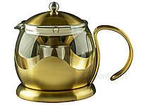 CT La Cafetière Edited Чайник золотистого цвета 1200 мл