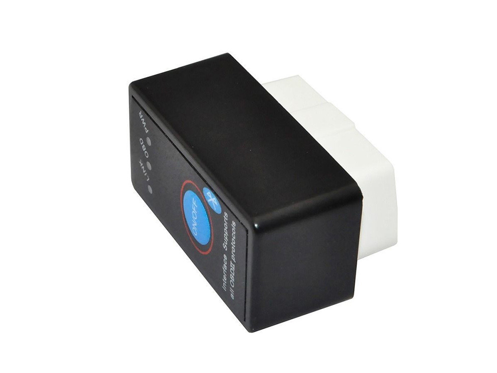 ELM327 OBD2 Bluetooth V2.1, кнопка выключения v2.1