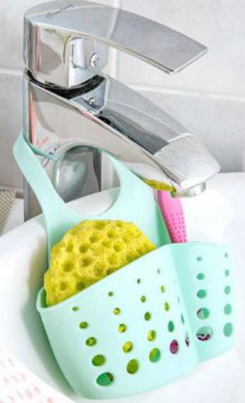 Органайзер для кухонной мойки для мытья посуды регулируемый ПВХ