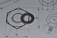 Шайба М5 оцинкованная плоская DIN 125