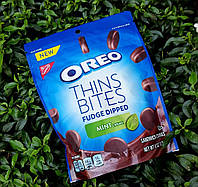 Oreo thins bites fudge dipped mint