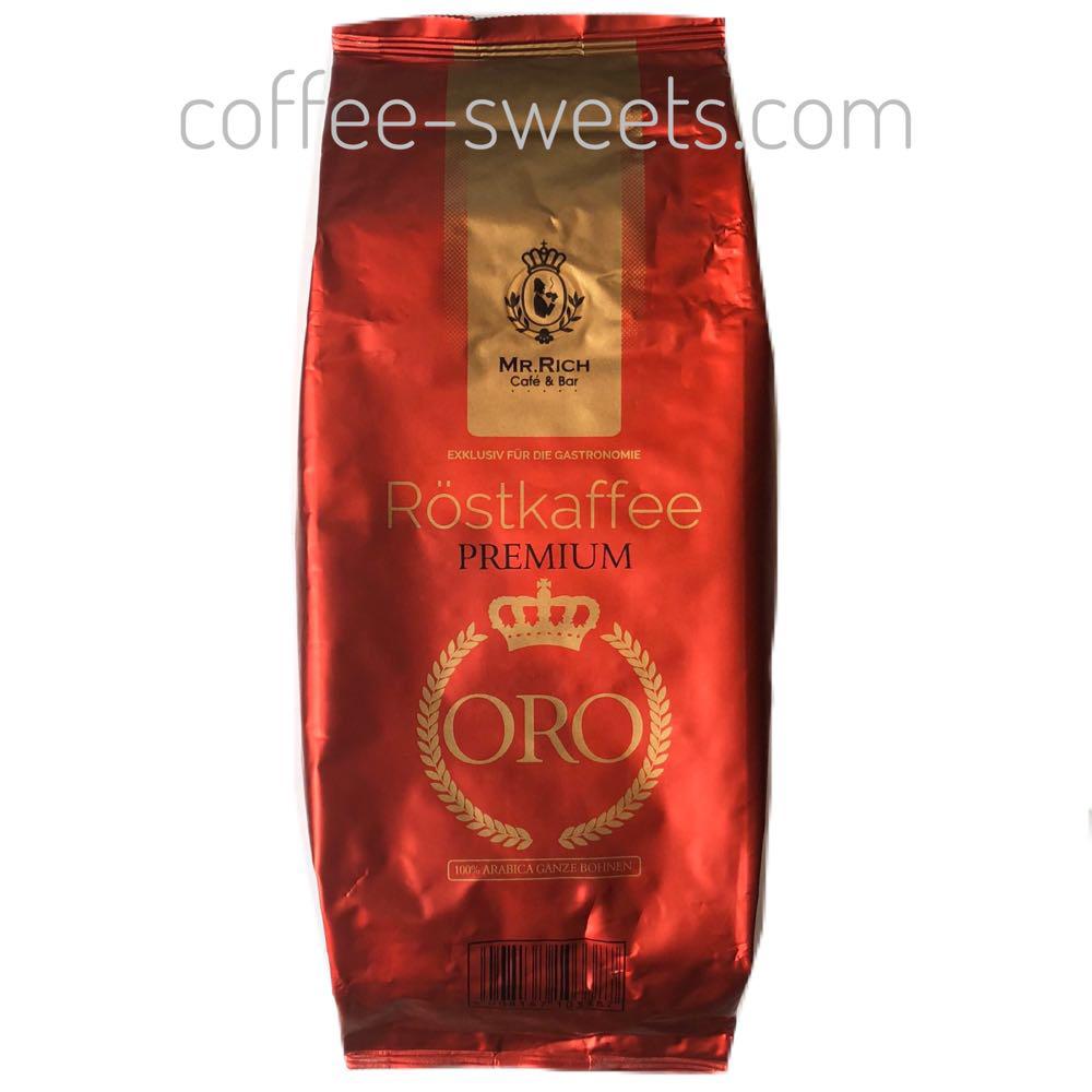 Кофе зерновой Mr.Rich ORO premium 1kg