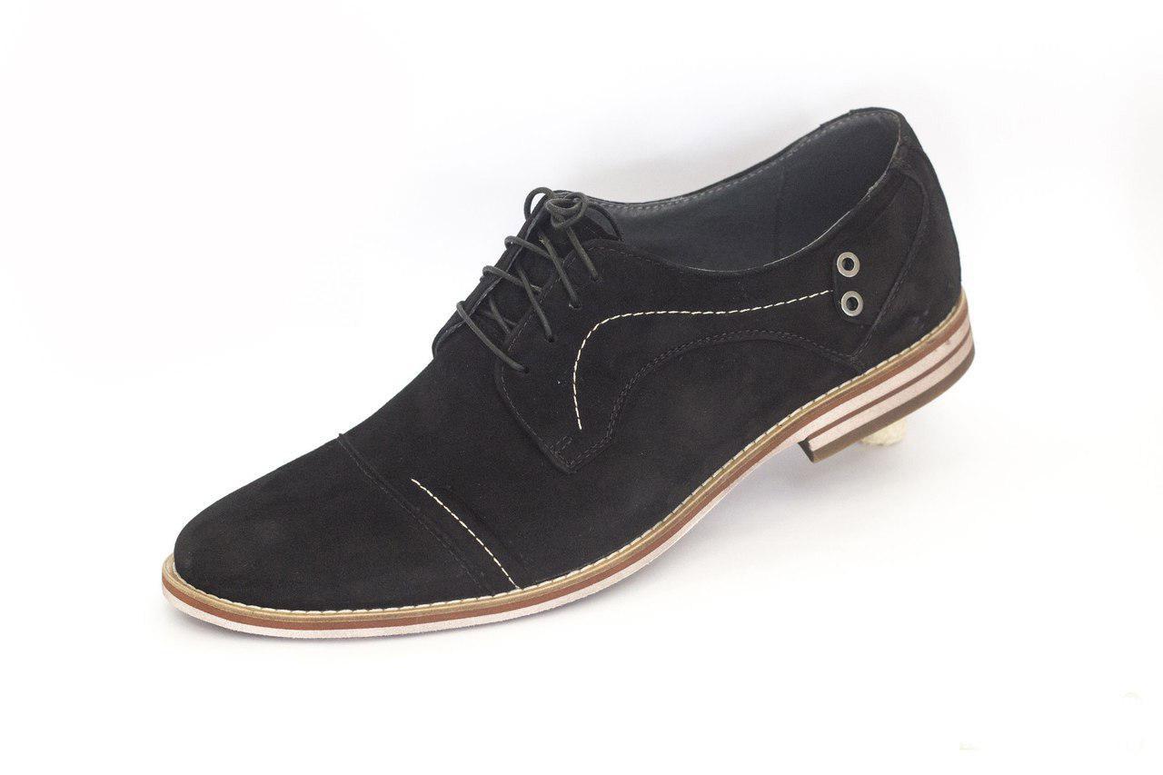 Остання пара - 43 розмір! Замшеві туфлі, будь модним цього сезону!