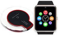 Smart Watch GT-08+ Беспроводная зарядка с приемником