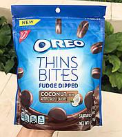 Oreo thins bites fudge dipped coconut