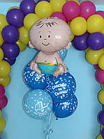 Связка шариков для мальчика