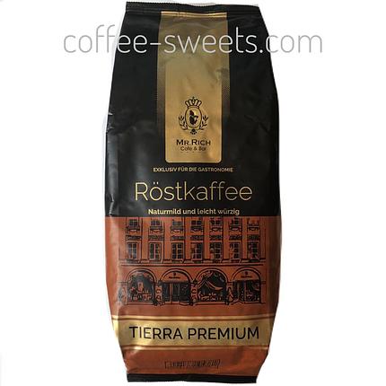 Кофе в зёрнах Mr. Rich Espresso Premium Tierra 1кг, фото 2