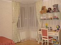 Пошив штор и гардин в детскую комнату.