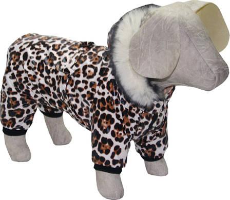 Комбінезон для собак Тигрюля коричневий, фото 2