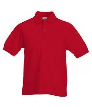 Детская футболка поло 417-40-В675  fruit of the loom