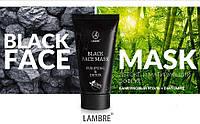 BLACK FACE MASK LAMBRE- многофункциональная очищающая маска - 40мл.