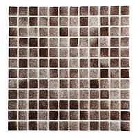 Мозаика стеклянная Dark Brown PW25207Antislip