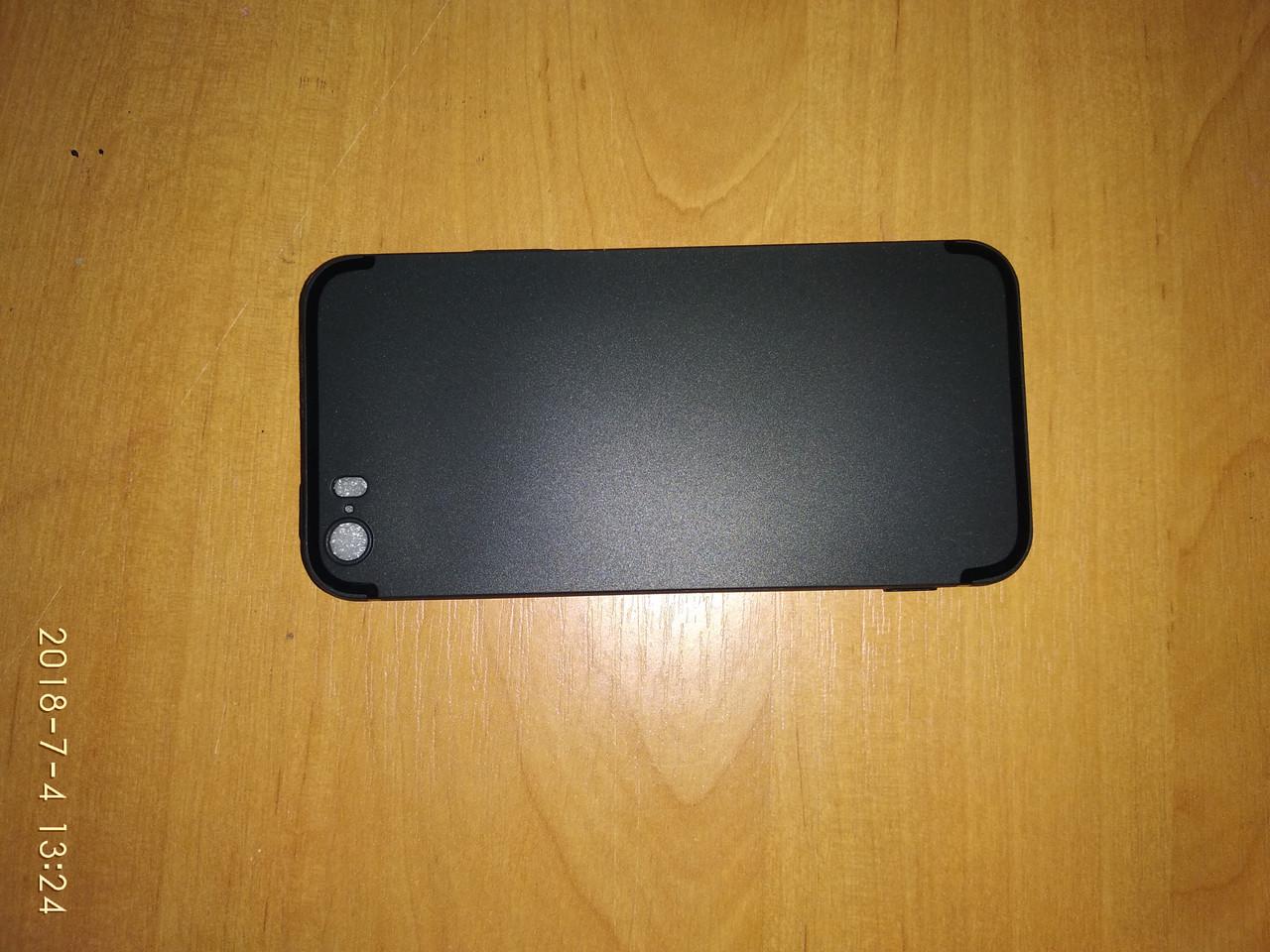 Мякий тонкий чохол на iphone 5, 5s, SE