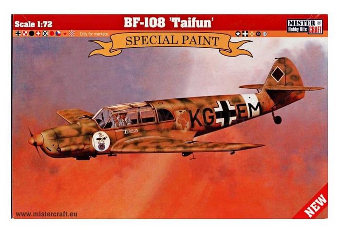 """Messerschmitt Bf.108 """"Taifun"""". 1/72 MISTER CRAFT D-268, фото 2"""