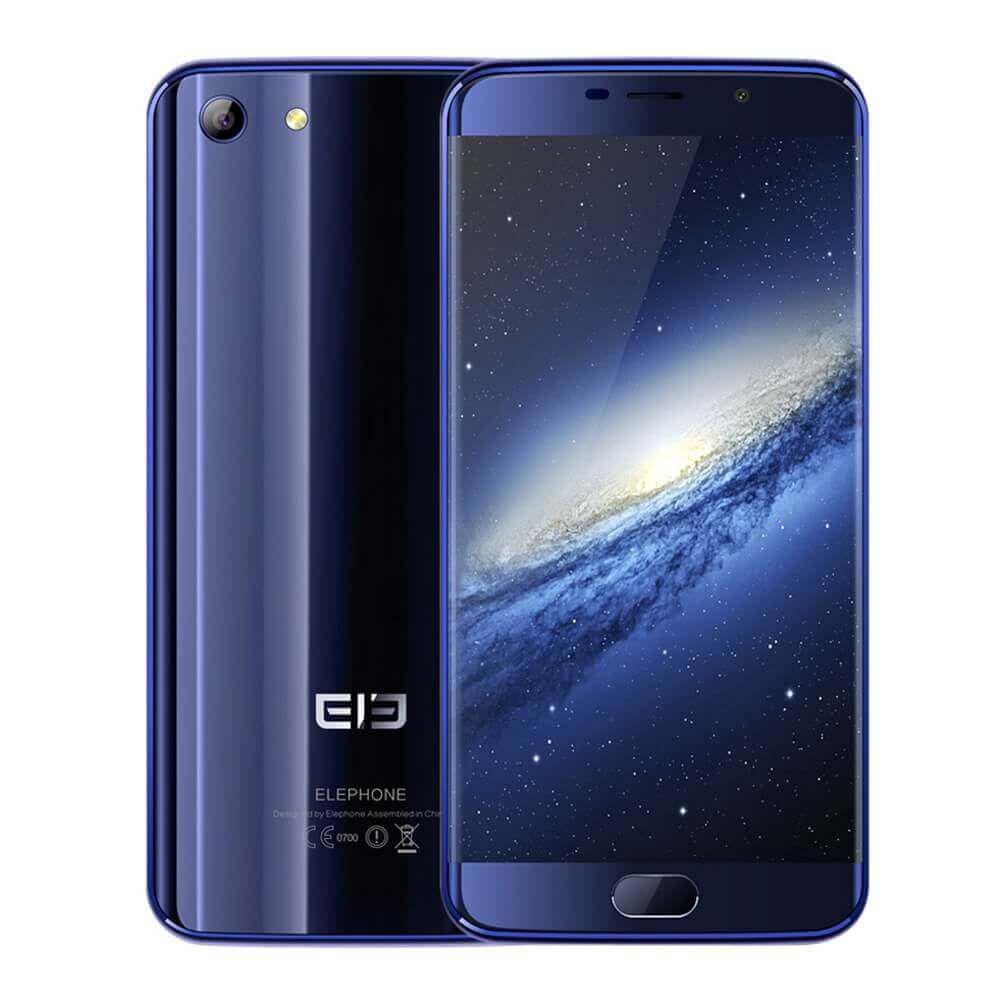 "Смартфон Elephone S7 4/64GB Blue, 13/5Мп, 5.5"" IPS, 2sim, 10 ядер, 3000mAh, Helio X20, 4G"