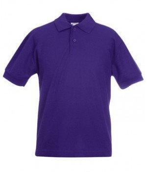 Детская футболка поло 417-РЕ-В679  fruit of the loom