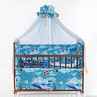 """Набор постельного белья для новорожденного """"Аквариум"""""""