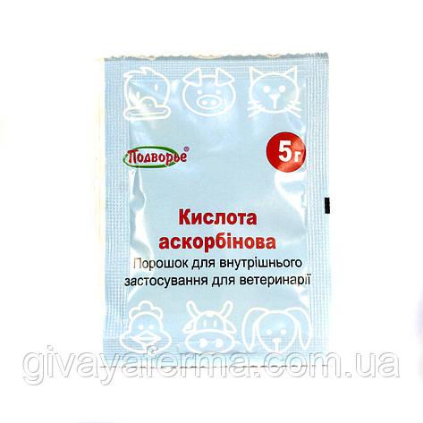 Аскорбиновая кислота - (витамин С), 5 гр, фото 2