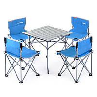 Набор складной мебели стол+4 стула NatureHike Foldabe Table & Chair Set NH17Z002-Z