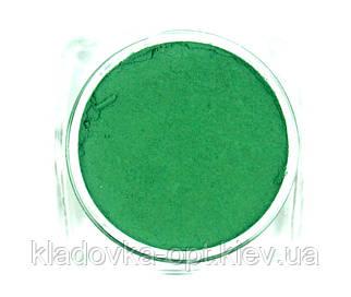 Термо-втирка для ногтей №6 темно-зеленая