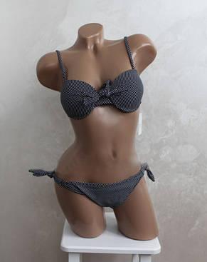 Роздільний жіночий купальник пуш ап з родзинкою, фото 2