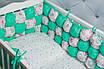 Бортик Бом-Бон Мята+Пироженые, фото 2