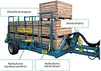 Прицеп садовый грузовой разгрузочный PZW-490 Warka (Польша), фото 1