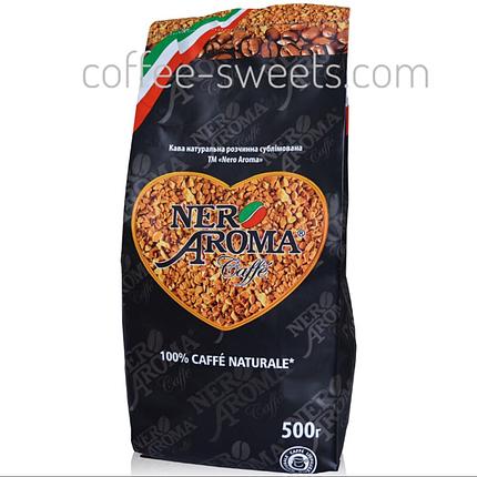 Кава розчинна Aroma Nero Classico сублімований 500g, фото 2
