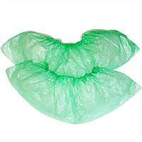 Бахилы полиэтиленовые 50пар уп зеленые
