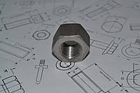 Гайка фланцевая М24 ГОСТ 9064-75 из нержавеющей стали, фото 1