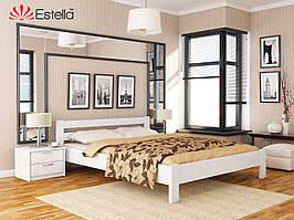 Дерев'яне ліжко Рената (білий)