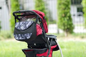 Сумка на коляску Baby Breeze 0355 диз_черная