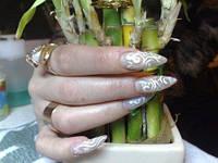 Наращивание ногтей на ручках и ножках