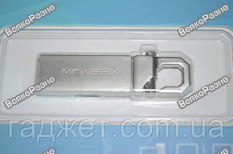 USB флешка MOWEEK нa 32 GB. Металлическая флешка карабин., фото 2