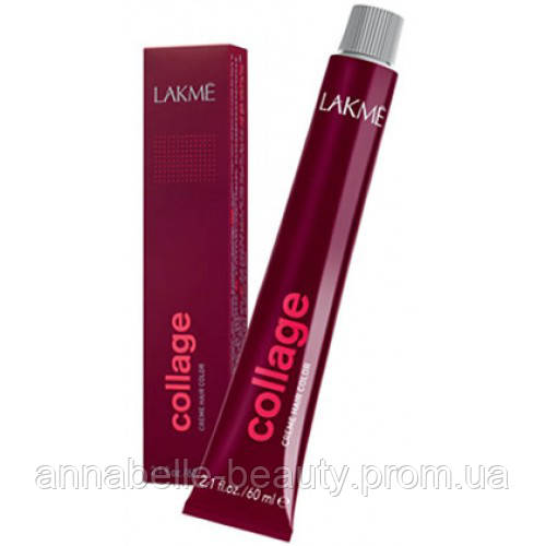 Lakme Collage - Стойкая перманентная крем краска для волос 60мл