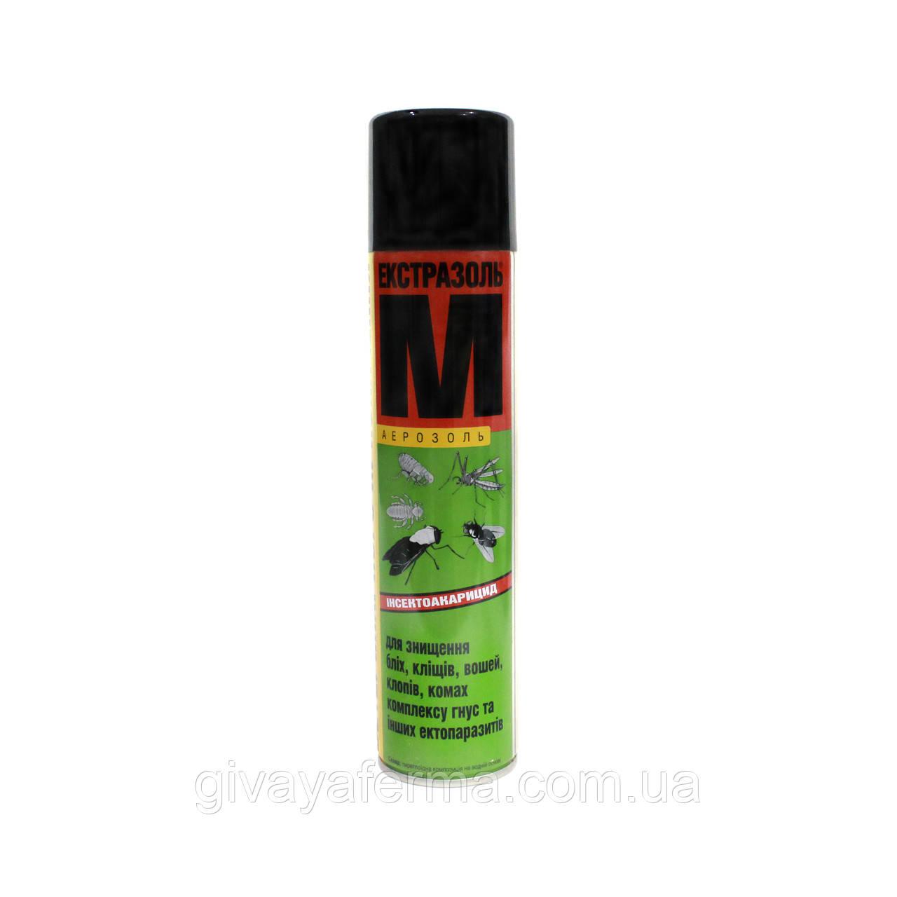 Экстразоль М 300 мл, спрей, от блох и насекомых для животных и птиц