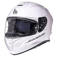 Мото шлем MT-001 Белый перламутр