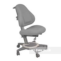 Подростковое ортопедическое компьютерное кресло от 7 до 18+ лет ТМ FunDesk Bravo Grey серый, фото 1