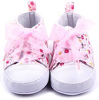 Детские пинетки (мокасины) для новорожденных мальчика или девочки от 0 до 18 месяцев, фото 1