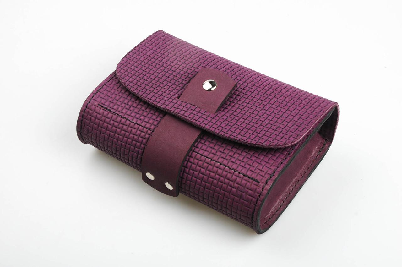 a43b17eb480c Кожаная сумочка-клатч, маленькая сумочка через плечо, ручная работа ...
