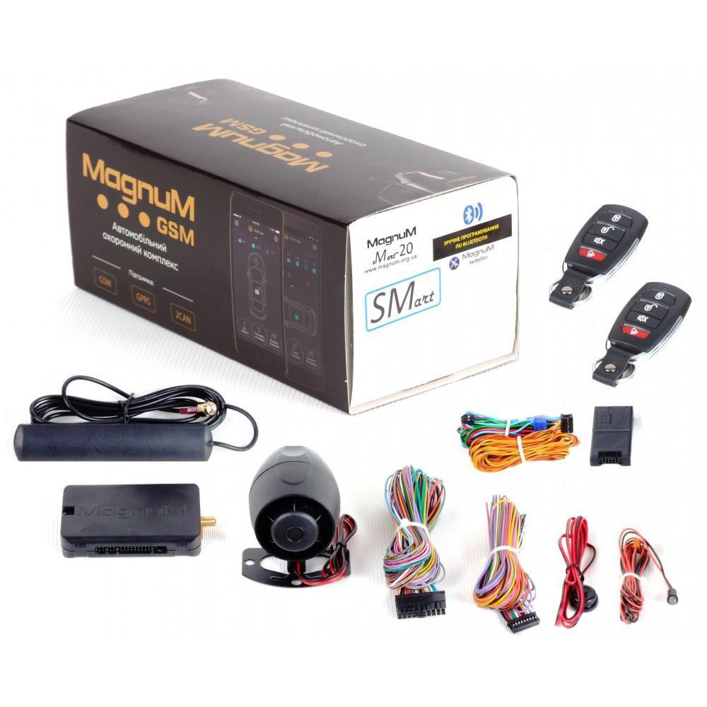Автосигналізація Magnum GSM Smart M-20 CAN з сиреною
