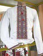 Вышиванка мужская на полотне (ручная, эксклюзив)