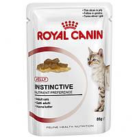 Royal Canin Instinctive в желе (старше 1 года) для кошек