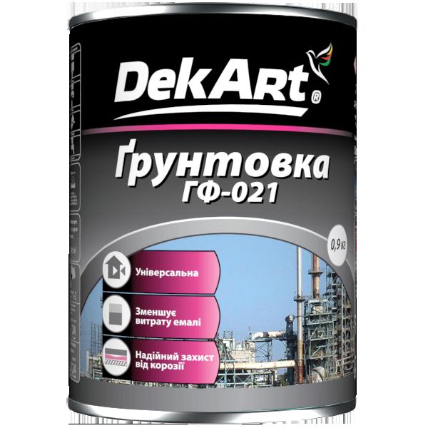 Грунтовка ГФ-021 DekArt  (0,9кг)