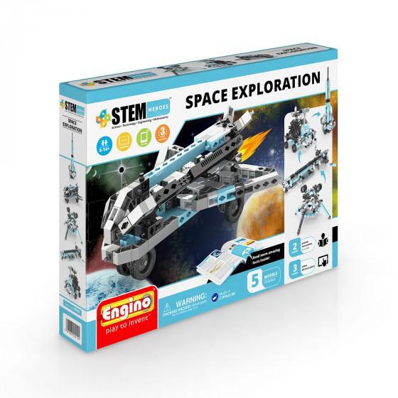 Конструктор серии STEM HEROES 5 в 1  Исследование космоса